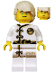 Minifig No: njo429  Name: Lloyd - White Wu-Cru Training Gi, Tousled Hair