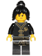 Minifig No: njo433  Name: Nya - Black Wu-Cru Training Gi