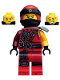 Minifig No: njo457  Name: Kai - Hunted, Flat Silver Side-Scabbard