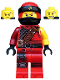 Minifig No: njo469  Name: Kai - Hunted, No Side-Scabbard