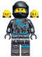 Minifig No: njo475a  Name: Nya, Crooked Smile / Open Mouth Smile - Hunted (Alternate)