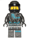 Minifig No: njo475b  Name: Nya, Crooked Smile / Open Mouth Smile - Hunted (without Asian Symbol on Wrap)