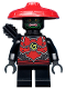 Minifig No: njo500  Name: Stone Army Scout with Short Legs and Arrow Quiver (Legacy)