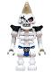 Minifig No: njo503  Name: Skeleton Warrior with Mohawk (Legacy)