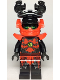 Minifig No: njo508  Name: Stone Army Warrior with Shoulder Armor and Helmet with Chin Guard (Legacy)