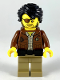Minifig No: njo527  Name: Clutch Powers - Secrets of the Forbidden Spinjitzu