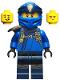 Minifig No: njo548  Name: Jay - Secrets of the Forbidden Spinjitzu