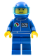 Minifig No: oct023  Name: Octan - Blue Oil , Blue Legs, Blue Helmet, Trans-Light Blue Visor