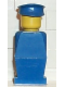 Minifig No: old007  Name: Legoland Old Type - Blue Torso, Blue Legs, Blue Hat