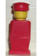 Minifig No: old025  Name: Legoland Old Type - Red Torso, Red Legs, Red Hat