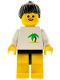 Minifig No: par020  Name: Palm Tree - Yellow Legs, Black Ponytail Hair
