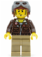 Minifig No: pha001  Name: Jake Raines - Aviator Jacket, Helmet