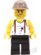 Minifig No: pha004  Name: Mac McCloud - Kepi