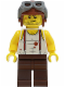 Minifig No: pha006  Name: Mac McCloud - Aviator Helmet