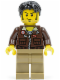Minifig No: pha012  Name: Jake Raines - Aviator Jacket
