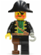 Minifig No: pi002  Name: Captain Red Beard with Pirate Hat