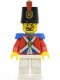 Minifig No: pi092  Name: Imperial Soldier II - Shako Hat Printed, Black Goatee