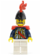 Minifig No: pi111  Name: Imperial Soldier II - Governor, Red Plume, Red Epaulettes