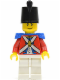 Minifig No: pi114  Name: Imperial Soldier II - Shako Hat Plain