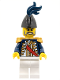 Minifig No: pi117  Name: Imperial Soldier II - Governor, Dark Blue Plume