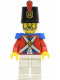Minifig No: pi118  Name: Imperial Soldier II - Shako Hat Printed, Gray Beard