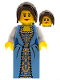 Minifig No: pi121  Name: Governor's Daughter, Dress