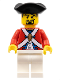 Minifig No: pi122  Name: Imperial Soldier II - Officer, Goatee