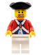 Minifig No: pi123  Name: Imperial Soldier II - Officer, Brown Beard