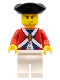 Minifig No: pi124  Name: Imperial Soldier II - Officer, Cheek Lines