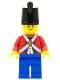 Minifig No: pi181  Name: Imperial Soldier II - Shako Hat Plain