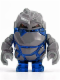 Minifig No: pm004  Name: Rock Monster - Glaciator (Trans-Dark Blue)