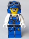 Minifig No: pm013  Name: Power Miner - Brains, Goggles