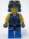 Minifig No: pm014  Name: Power Miner - Engineer, Goggles