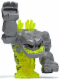 Minifig No: pm015  Name: Rock Monster Large - Geolix (Trans-Neon Green) - 3 Crystals