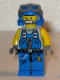 Minifig No: pm018  Name: Power Miner - Duke, Bare Arms