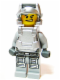 Minifig No: pm026  Name: Power Miner - Engineer, Gray Outfit