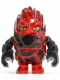 Minifig No: pm027  Name: Rock Monster - Infernox (Trans-Red)