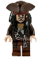 Minifig No: poc011  Name: Captain Jack Sparrow with Tricorne