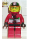 Minifig No: rac012  Name: Racer Driver, Jungle Monster