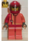 Minifig No: rac013  Name: Racer Driver, Scorcher