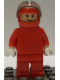 Minifig No: rac023  Name: F1 Ferrari - R. Barrichello / F. Massa with Helmet Decorated - without Torso Stickers