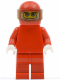 Minifig No: rac024  Name: F1 Ferrari Driver with Helmet and Balaclava - without Torso Stickers