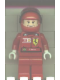 Minifig No: rac027s  Name: F1 Ferrari - F. Massa with Helmet Red Plain - with Torso Stickers