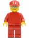 Minifig No: rac030  Name: F1 Ferrari Engineer (8672)  - without Torso Stickers
