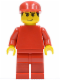Minifig No: rac031  Name: F1 Ferrari Record Keeper - without Torso Stickers