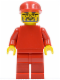 Minifig No: rac032  Name: F1 Ferrari Engineer 2 - without Torso Stickers