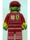Minifig No: rac032bs  Name: F1 Ferrari Engineer 2 - with Shell Torso Stickers