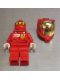 Minifig No: rac033s  Name: F1 Ferrari Pit Crew Member, Fuel (8673) - with Torso Stickers