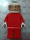 Minifig No: rac035  Name: F1 Ferrari - K. Raikkonen with Helmet White Decorated - without Torso Stickers (8144-2)