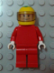 Minifig No: rac036  Name: F1 Ferrari - F. Massa with Helmet Yellow Decorated - without Torso Stickers (8144-2)